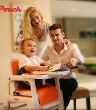 帛琦/Pouch兒童三合一組合餐椅寶寶椅子多功能便攜式嬰兒餐桌椅吃飯座椅K15