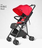帛琦/Pouch嬰兒推車輕便折疊可上飛機寶寶手推車新生可坐可躺Q3
