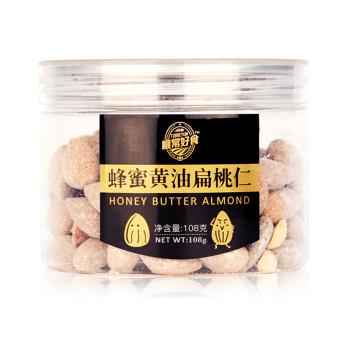 榧常好食蜂蜜黄油扁桃仁108g