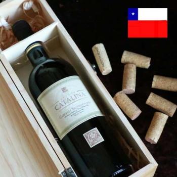 卡塔丽娜赤霞珠干红葡萄酒 375ml