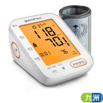 本月新品】鱼跃臂式电子血压计YE680CR充电款
