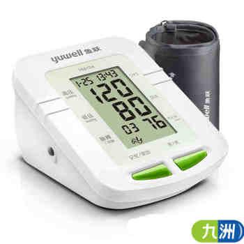 鱼跃臂式电子血压计YE610A 语音播报