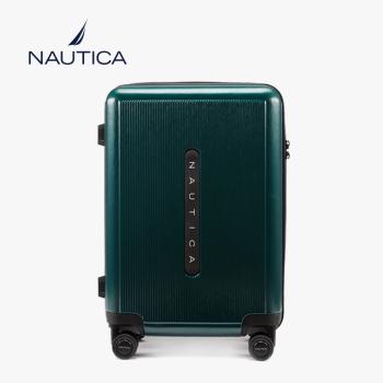 美国诺帝卡(NAUTICA)行李箱?#20449;?#26102;尚潮20英寸万向轮旅行箱登机箱商务出差旅行箱包拉杆箱