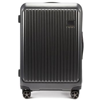 美国诺帝卡(NAUTICA)行李箱男女时尚潮20英寸万向轮旅行箱登机箱商务出差旅行箱包拉杆箱 10101113 黑
