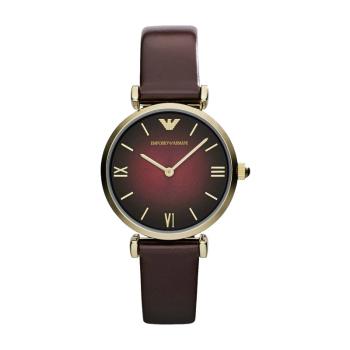 阿玛尼(Emporio Armani)优雅休闲石英女表时尚气质指针女士手表AR1757