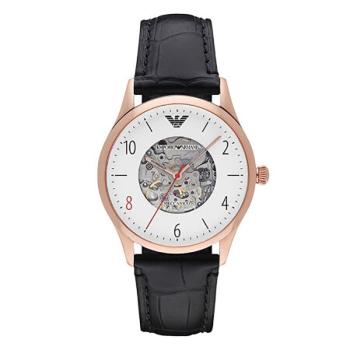 阿玛尼(Emporio Armani)手表男士手表 全自动机械镂空时尚商务男表机械表 AR1924