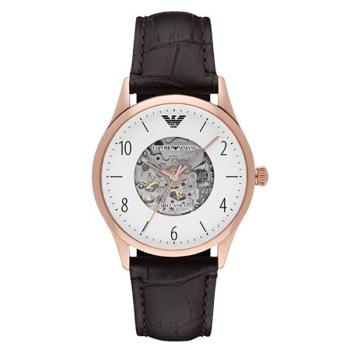 阿玛尼(Emporio Armani) 手表全自动机械男表时尚休闲男士手表机械表AR1920