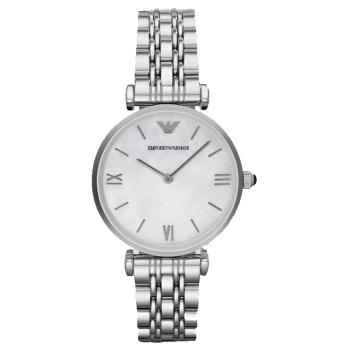 阿玛尼(Emporio Armani)钢制表带经典时尚休闲石英女士腕表 AR1682