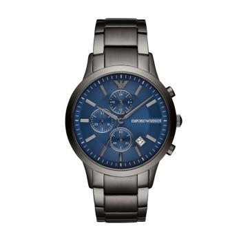 阿玛尼(Emporio Armani) 钢质表带休闲时尚商务防水 男士石英腕表 AR11215