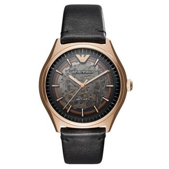 阿玛尼(Emporio Armani) 手表欧美经典男士休闲机械腕表 AR60004