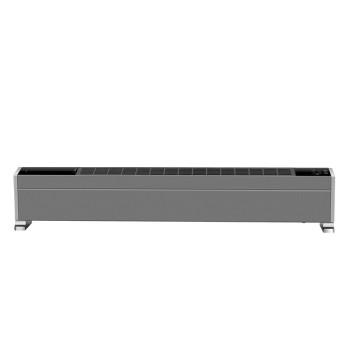 美的踢脚线对流浅灰色取暖器NDY-LSX