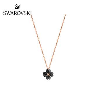 施华洛世奇 镀玫瑰金色 精致四叶草女款项链 5420246