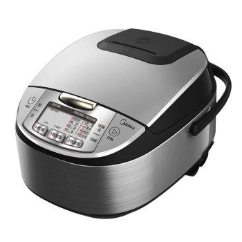 美的4L全智能电饭煲 晶钻涂层 聚能火弧发热盘FS4077