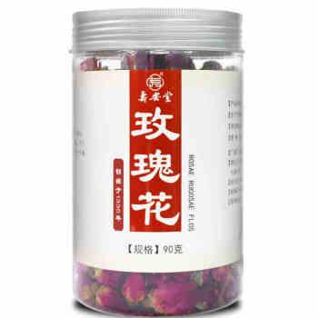 本月新品】寿安堂玫瑰花90g