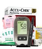 【健康包】血糖套餐 罗氏卓越金锐精采型血糖仪 血糖试纸 体温计