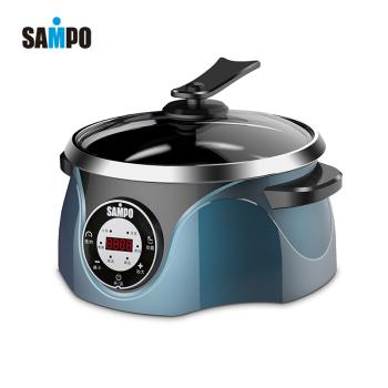 新寶多功能電火鍋SP-DHG002藍色