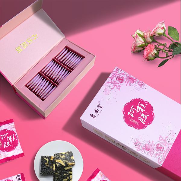 本月新品/第三件0元】寿安堂阿胶糕300g 玫瑰型