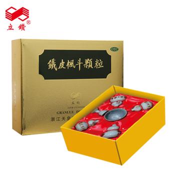 本月新品】立鉆鐵皮楓斗顆粒25g*4瓶  金裝禮盒