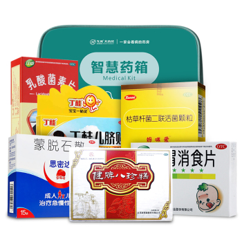 【智慧药箱】儿童腹泻套餐 健胃消食 腹泻 便秘