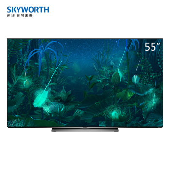 創維55/65英寸蜂鳥AI芯片OLED自發光電視55/65S81