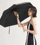 20款蕉下双层小黑伞系列三折伞-韵影黑