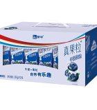 蒙牛真果粒藍莓味250ml*12盒*2件