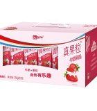 蒙牛真果粒草莓味250ml*12盒*2件