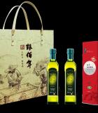 糧佰年祝福油你禮盒A(2瓶500ml特級橄欖油 1kg稻花香米磚)