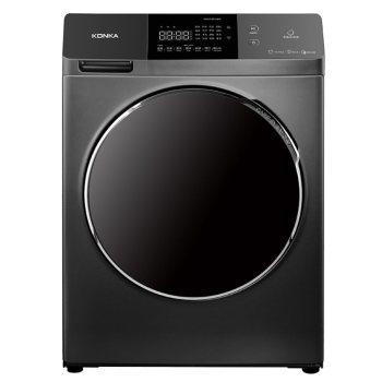 康佳XQG100-BD14365S 10公斤滚筒全自动款变频节能中途添衣 高温洗涤洗衣机