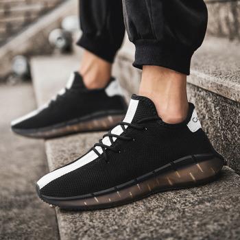 CaldiceKris时尚休闲运动男鞋CK-X1003 白色 黑色