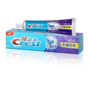 佳洁士3D炫白牙膏120g 柠檬茶爽
