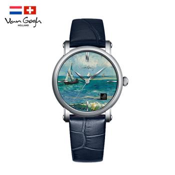 梵高瑞士女士手表OPTM-L 海景