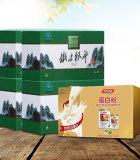 森山铁皮枫斗冲剂3g*12包*4盒+汤臣倍健蛋白粉礼盒 冬季补元气套餐B