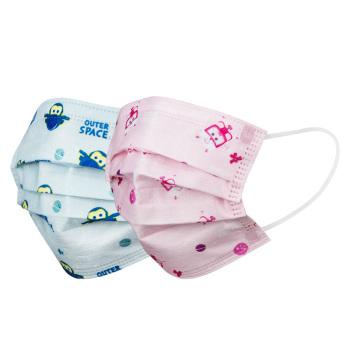 稳健医疗儿童医用护理口罩30只装 粉色小爱
