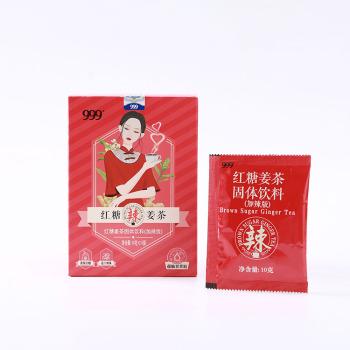 999红糖姜茶10g*10包*3盒 加辣版