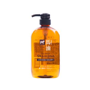 日本咖思美熊野油脂马油洗发水600ml