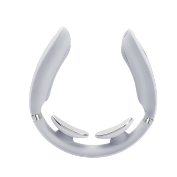 SKG颈椎按摩仪肩颈按摩器K5-1X 蓝牙款 浅灰色