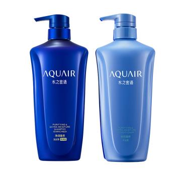 资生堂水之密语净润臻养倍润洗发水护发素600ml