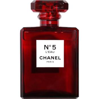 香奈儿五号之水淡香水100ml 圣诞限量红瓶
