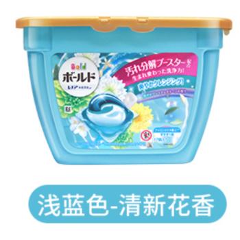 宝洁洗衣球326g*2 浅蓝色 损伤修复 日本进口