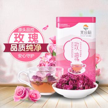 光合耘玫瑰花茶30g