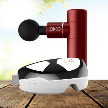 SKG筋膜枪按摩仪按摩器F3 mini+SKG眼部按摩器