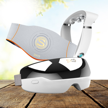 SKG眼部按摩器+SKG颈椎按摩器+SKG按摩腰带